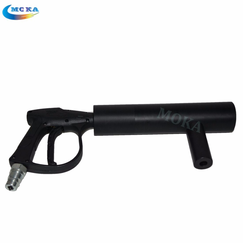 3 pcs/lot  Special effect CO2 gun machine disco Hand-hold portable DJ Co2 pistol gun co2 jet cryo fx machine 4pcs lot fligt case special effect co2 cryo jet dj equipment co2 smoke machine for clubs concert theater