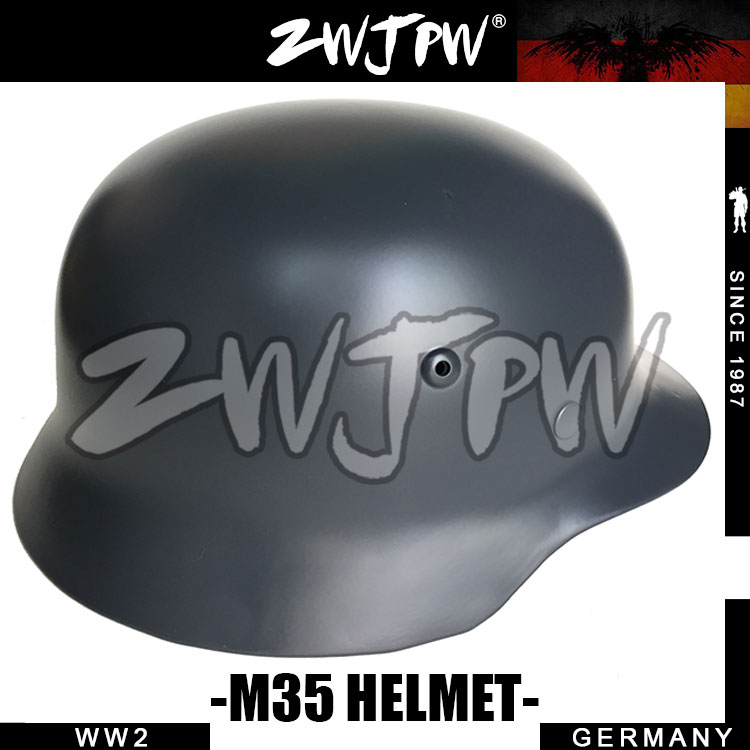 Tactical M35 Gray Helmet WW2 WWII Army Outdoor CS Survival Riding Motorcycle DE/407102 ccgk double layer m1 helmet steel and abs safety helmet military tactical protective equipment outdoor cs survival collection
