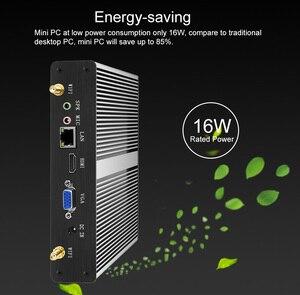 Image 4 - YCSD Mini PC Intel Core i7 4610Y i5 4200Y i3 4010Y CPU Windows 10 8GB DDR3L 240GB SSD 300Mbps WiFi Gigabit Ethernet 6*USB
