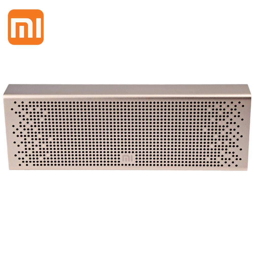 Prix pour 100% D'origine XiaoMi Bluetooth 4.0 Haut-Parleur MP3 Lecteur Sans Fil Stéréo Mini Portable de Poche Audio Mains Libres pour Téléphone Intelligent