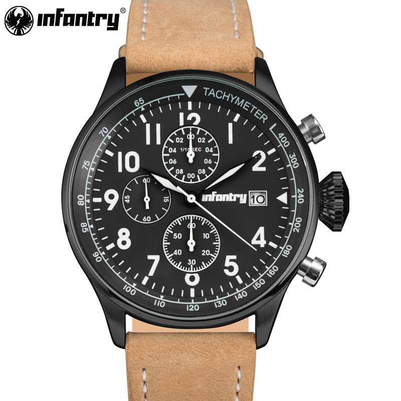 INFANTRY Top Brand Mens Sport Watches Men Quartz Analog Clock Man Military Waterproof Watch Sport Relogio Masculino reloj hombre weide popular brand new fashion digital led watch men waterproof sport watches man white dial stainless steel relogio masculino