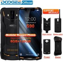 IP68/IP69K DOOGEE S90 Modular Rugged Mobile Phone 6.18inch D