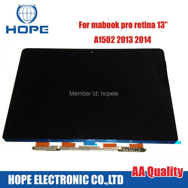"""Nueva Retina LCD Para Apple MacBook Pro Retina 13 """"Pantalla LED LCD A1502 2013 2014 Año LSN133DL02-A02 LP133WQ1 SJ E1"""