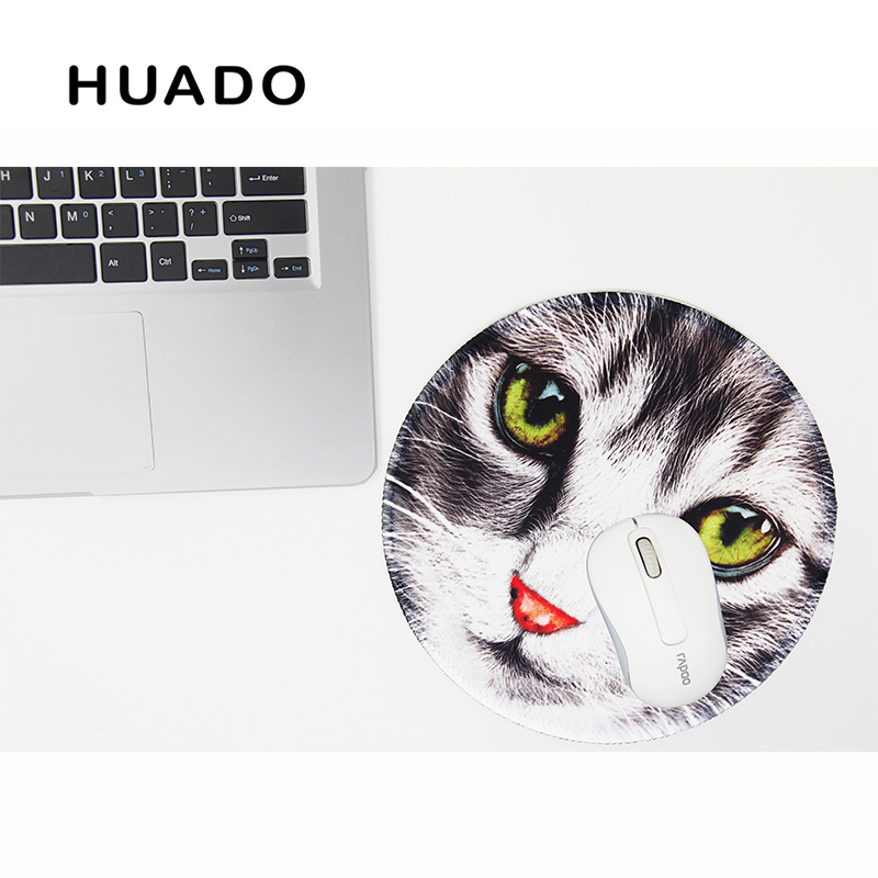 2018 New gaming mouse pad round mouse mat lock edge mousepad desktop mat for csgo/warface/office work