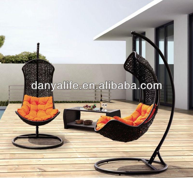 outdoor wicker hammock chair best office for shoulder pain dyhm d1110 rattan leisure garden patio swing haning in hammocks from furniture on aliexpress com alibaba