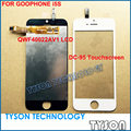 QWF40022AV1 LCD DISPLAY TOUCHSCREEN DC-95 FOR GOOPHONE i5S CLONE Free Shipping