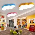 LED Cloud Decke Lichter eisen Lampenschirm leuchte Decke Lampe kinder Baby kinder schlafzimmer leuchten Bunte beleuchtung licht