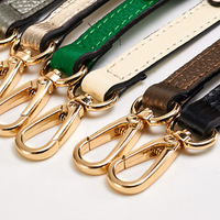 High Quality Multicolor Female Adjustable Thin Pin Buckle Vintage Genuine Leather Shoulder Strap Accessories For Women