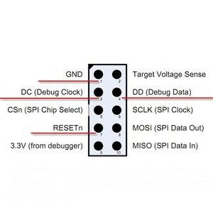 Image 3 - CC Debugger Zigbee Emulator Support Upgrade Online Shell 2540 2541 2530 Protocol Analysis