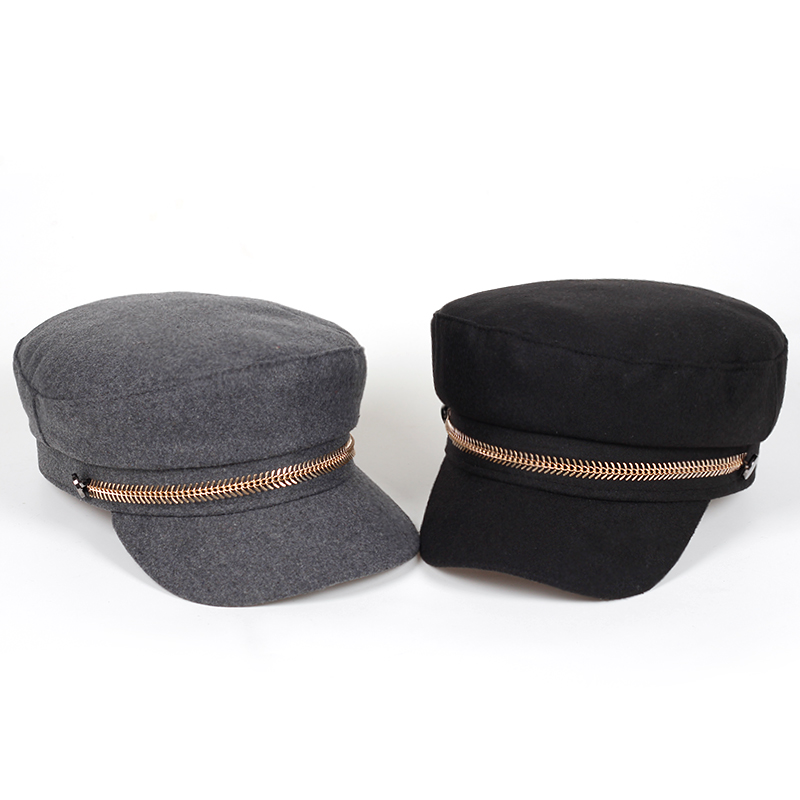 wool Beret Female Flat Flat   Cap   Hats For Women   baseball     Cap   British Style   caps   Boina Feminina Gorras Spring Autumn Bone