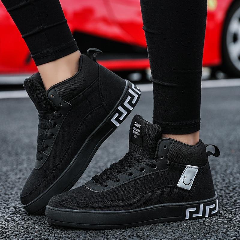 De Toile Top Formateurs High Rouge Sneakers Chaussures Nouvelle Top À Amateurs Mode Black Casual Size35 red Chine Arrivée Roulettes Et Planche Top Top Noir 44 black Couple low Low 6b7gfy