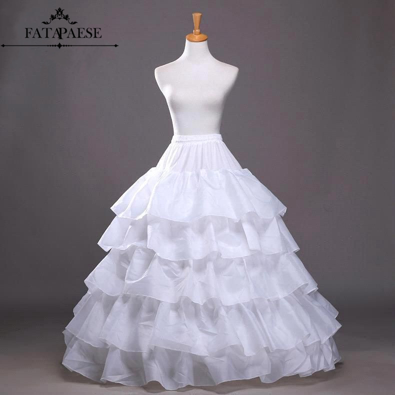 Big Ruffle 4 Hoops Ball Gown Petticoats Cheap Black Petticoat Crinoline Underskirt Wedding Accessories Women Tulle Underskirts