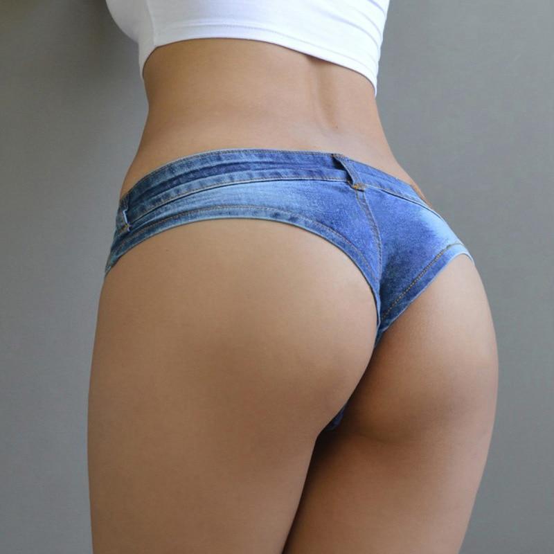 DJGRSTER Sexy Vintage Mini Short Jeans Booty Shorts Cute Bikini Denim Short Hot Vestidos Sexy Club Party Bikini Bottom