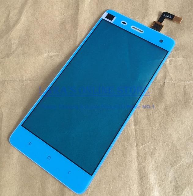 Original novo painel de vidro da tela de toque com digitador sensor flex cable para xiaomi 4 mi4 m4 + ferramentas de peças de reposição