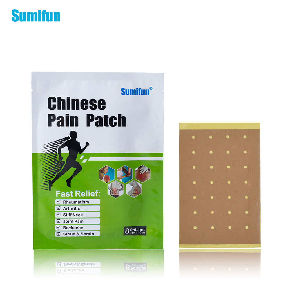 32pcs/4bag Sumifun Pain Patch Body Massager Haelth Analgesic Plaster For Joint Pain Cervical Spondylosis Anti-inflammatory D0864 2boxes 12 magnetic patch for hyperosteogeny medical massage patch treat osteoarthritis bone hyperplasia spondylosis herb plaster