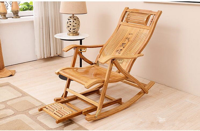 Rocking Chaise Balcony Recliner 5