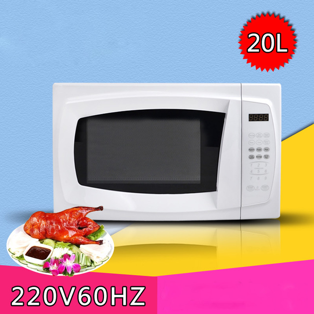 220v 60hz 1050w Microwave Oven 20l Digital Type Main Wheel Electric Micro Wave Ovens