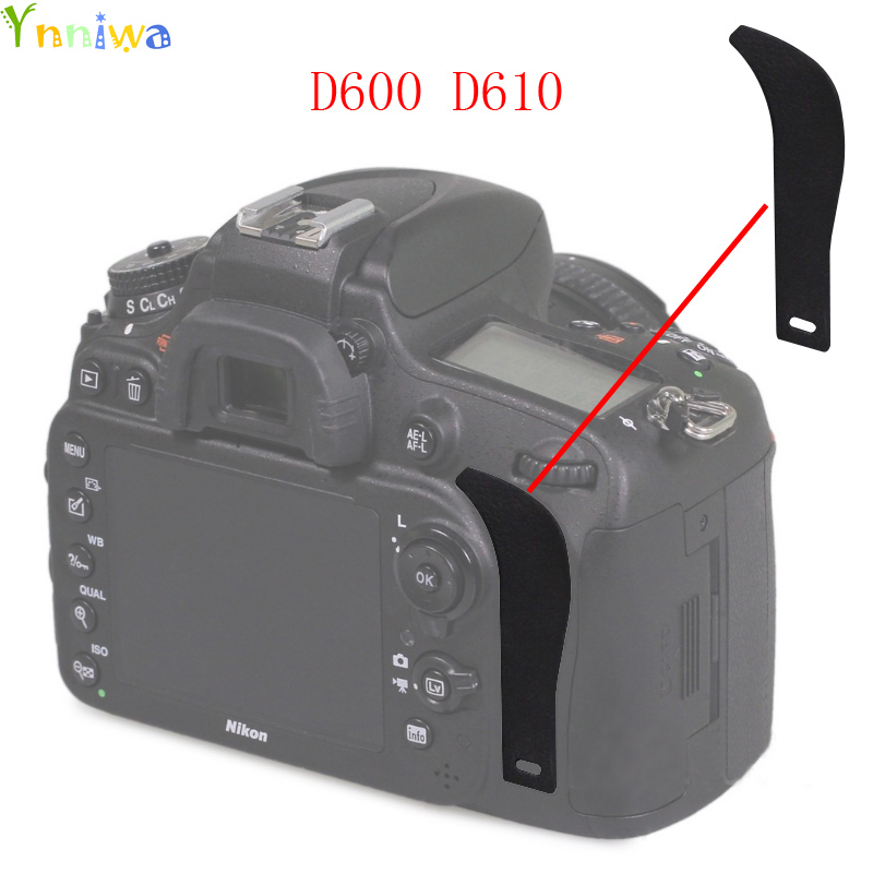 For Nikon D600 D610 The Thumb Rubber Back Cover Rubber DSLR Camera Replacement Unit Repair Part