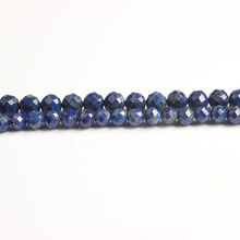 LanLi  natural jewelry 68mm Carved on the lapis lazuli loose Beads DIY men and women Bracelet Necklace  anklet Accessories