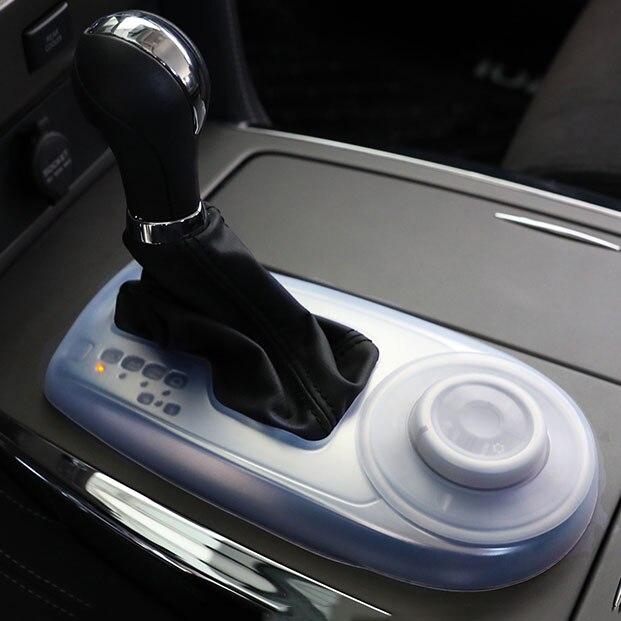 Аксессуары Infiniti Qx80 мягкая резиновая внутренняя Пылезащитная крышка коробки передач для Nissan Patrol Y62 Armada 2016-2019 аксессуары
