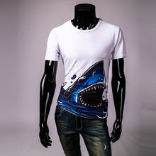 Cool Summer Men's O-neck Short Sleeve Men Shirts Summer Hot Sale 3D cartoon printed T Shirt men Tshirt Tops Tees For Man TD114