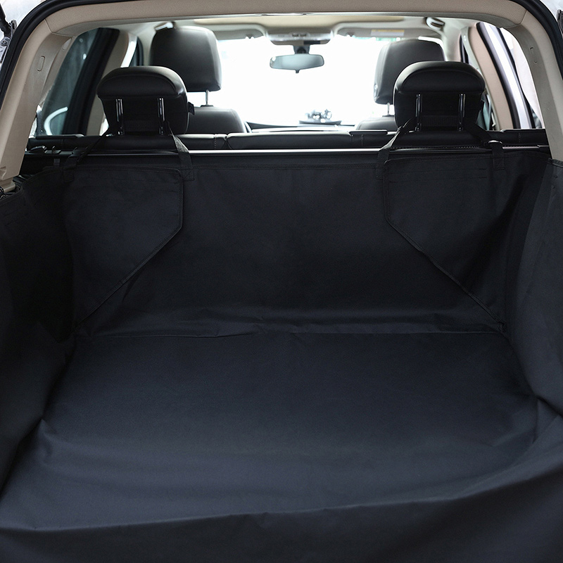Pet Dog Car Seat Covers Solid Waterproof Dog SUV Back Seat Carrier Travel Accessories 600D Oxford Car Trunk Mat Seat Protector