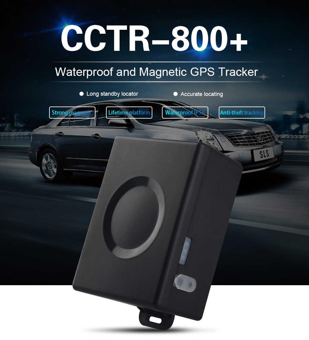 Ímã forte CCTR-800 Além de Dispositivo Rastreador Do Carro Localizador GPS Tracker 50 Dias Longa Espera Tempo de Vida À Prova D' Água Free Web APP