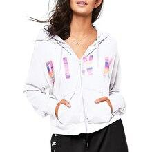VS Love Pink Hoodies Women Tumblr Ariana Grande Unicorn BTS Kpop Monsta X Sweatshirt Tracksuit Clothes Oversized Christmas