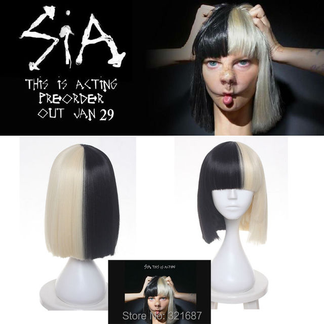 € 16.11 |Haute Qualité Cosplay Perruque Sia