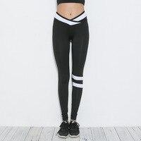 Caleçons exercice Croix ceintures Imprimer Leggings fitness Leggings Pour Femmes Sportives Entraînement Leggins Élastique Slim Noir Pantalon