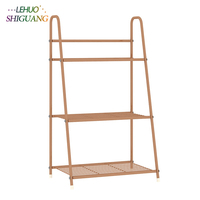 Simple and modern multi storey balcony flowerpot multifunctional living room bedroom floor shelves Lightweight and save space