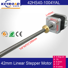 4.8kg.cm 1A  Nema17  Screw Rod  Linear Stepping Motor  3D printer stepper motor / Z-Motor with Trapezoidal Lead Srew