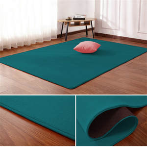 Velvet Carpet Blanket Rug Floor-Mat Bedside Bedroom Non-Slip Living-Room Nordic Rectangular