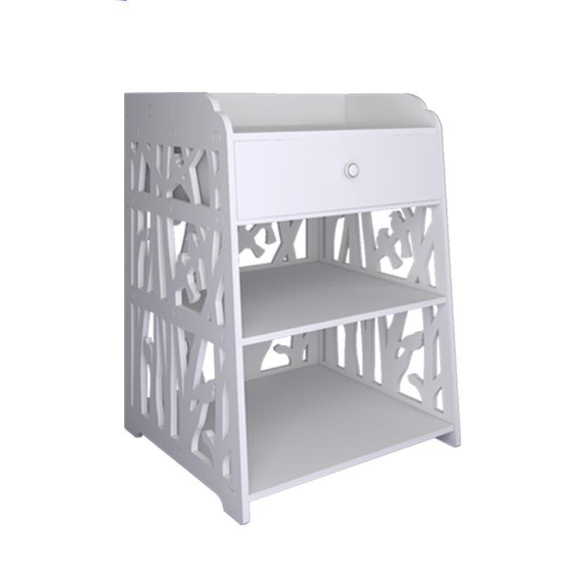 Mesa Auxiliar Nachtkastje Mobilya Veladores European Wooden Cabinet Bedroom Furniture Mueble De Dormitorio Quarto Bedside Table