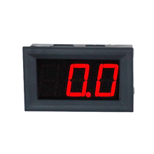 0.56 pollice DC 0.0-100A LED Rosso Digital 3 bit 4 fili Amperometro display Meter Panel Calibro di Ampère ampermeter corrente Auto Monitor(China)