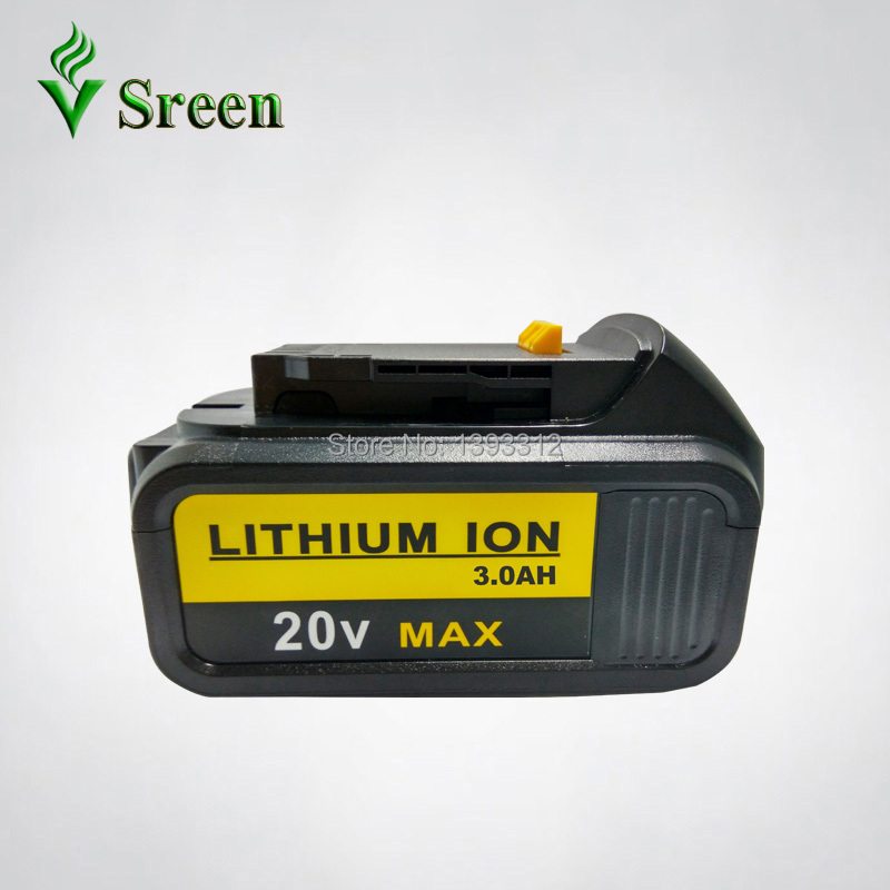 3000mAh Power Tool Rechargeable 18V Lithium Ion Battery Replacement for DEWALT DCB181 DCB180 DCB182 DCB200 DCB201 DCB203 DCB204 5000mah 20v lithium ion power tool rechargeable battery replacement for dewalt 20v dcb181 dcb180 dcb182 dcb200 dcb201 dcb203