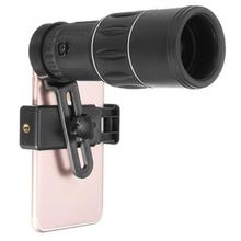 Universal Mobile Phone Clip-on 20X Zoom HD Optical Monocular Telescope Camera Lens For iPhone Samsung Xiaomi Huawei