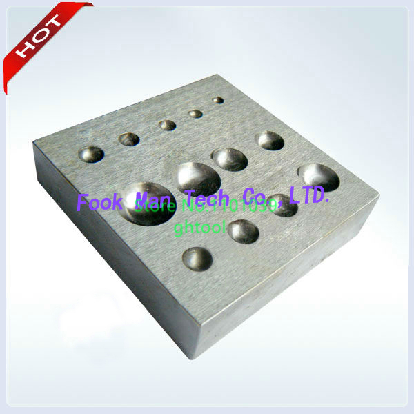 Free Shipping Wholesale Jewelry Making Tools Jewelers Tools Flat Dapping Block jewelery tools