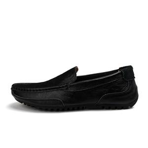Image 4 - Fevral クラシック快適なローファー男性の靴の品質分割レザーシューズ男性フラッツホット販売モカシンプラスサイズ