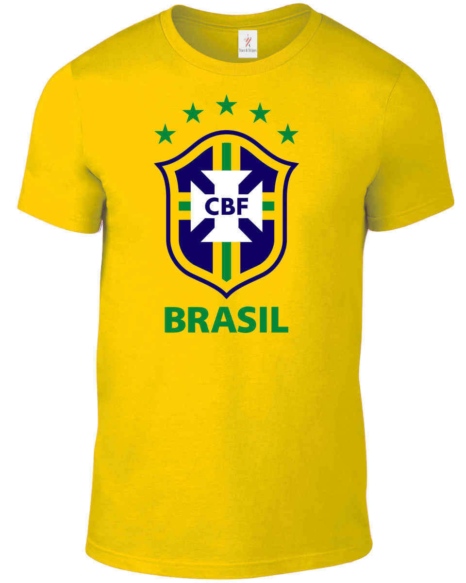 Brazil 2019 T Shirt Men'S Footballer Legend Soccers New