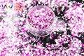 HH123-309 Mezclar Colores Hexagonal y la Forma Del Corazón Del Brillo de Las Lentejuelas de uñas de arte la decoración de DIY y decoraciones Navideñas
