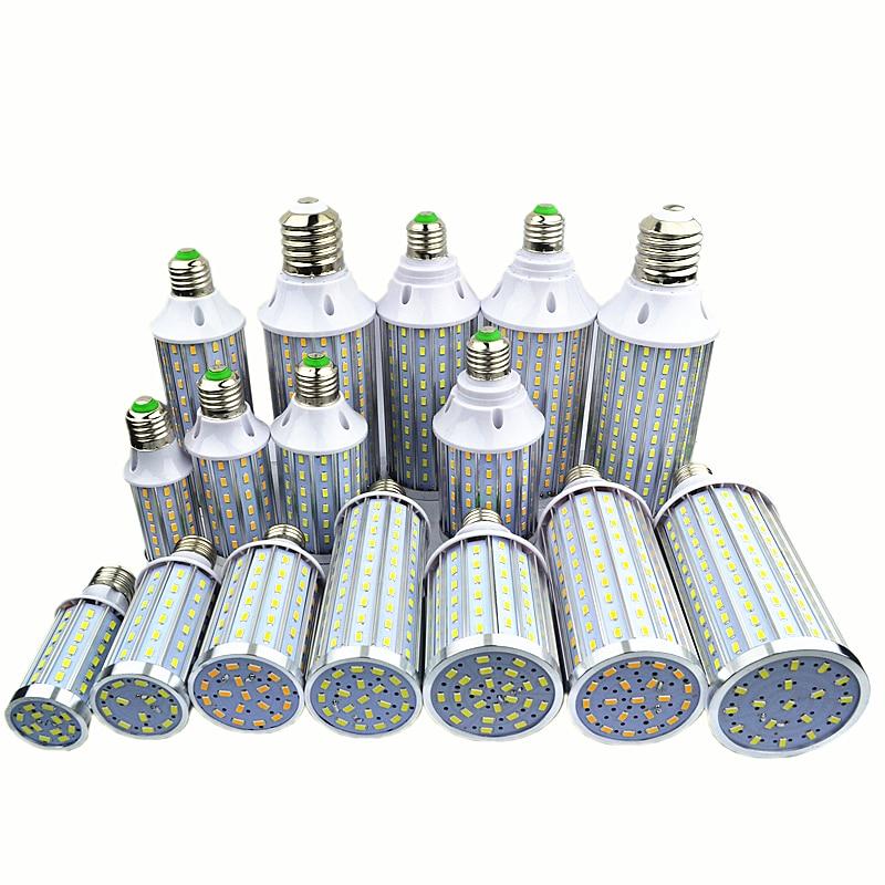 Super bright Led Corn light E27 E14 B22 E40 SMD 5630 85-265V 42 60 72 90 108 140 160 210 leds LED bulb 360 degree Lighting Lamp