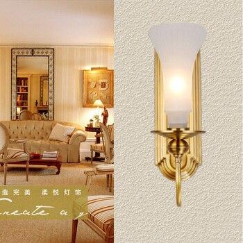 Antique cuivre led miroir éclairage applique applique luminaire Style américain et européen appliques chambre étude salle lampes