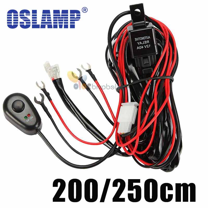 ford wiring harnesses reviews online shopping ford wiring cable lines offroad led driving light bar 12v 40a extention wire relay fog lamp wiring loom harness kit fuse power off 4x4 4wd