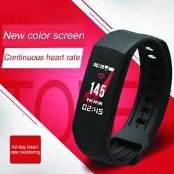 Continue hartslag intelligente kleur screen Armband gezonde dragen sport NFC toegang guard Armband intelligentie voor
