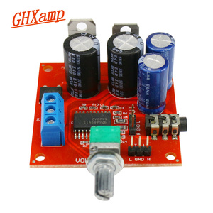GHXAMP TPA6120 Headphone Amplifier Board Hifi Earphone Audio Amplifier With Volume Adjustment Dual AC12v-15v 1pc