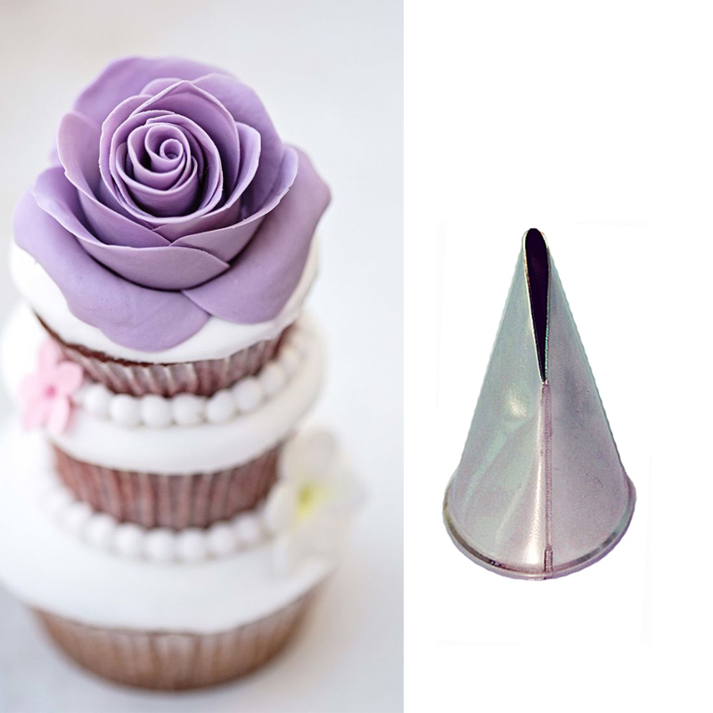 how to make frosting roses without a rose tip