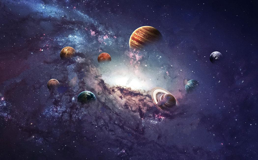 outer space earth galaxy theme backdrop Vinyl cloth High ...