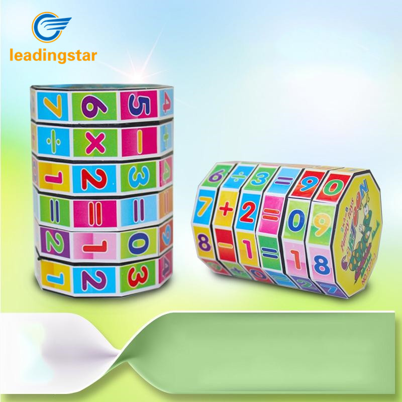 LeadingStar Childrens Educational Toys Mathematics Numbers Cubo Magico Cube Puzzle Game Gift for Kids zk49 ...