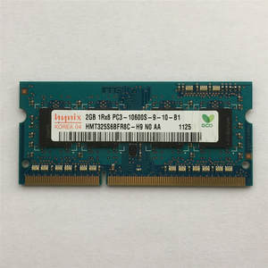 Hynix Notebook-Module Laptop Memory Ddr3 1333mhz PC3 10600S 1rx8 Sodimm-Ram 2GB Chipset